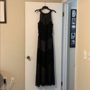 London Times Black Formal Dress